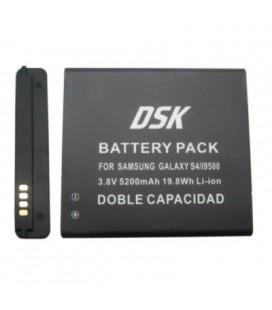 Batería para smartphone Samsung Galaxy S4 doble 5200 mah