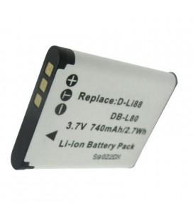 Batería para cámara Sanyo DBL80