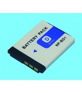 Batería para cámara Sony NPBD1 3,7v 680mah