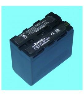 Batería para cámara Sony NPF960 7,2v 5400mah
