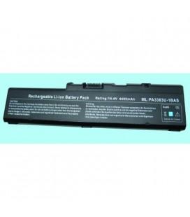 Batería para ordenador portátil Toshiba PA3385U-1BAS/1BRS