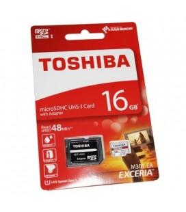 Tarjeta Memoria - Toshiba 16gb Incluye Adaptador S